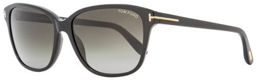Tom Ford Butterfly Sunglasses TF432 Dana 01B Black 59mm FT0432