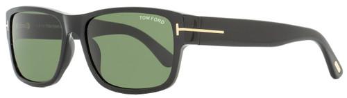 Tom Ford Rectangular Sunglasses TF445 Mason 01N Black 58mm FT0445