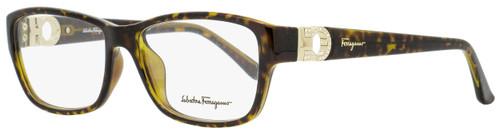 Salvatore Ferragamo Rectangular Eyeglasses SF2666R 214 Tortoise 54mm 2666