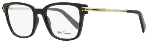 Salvatore Ferragamo Rectangular Eyeglasses SF2773R 001 Black/Gold 52mm 2773