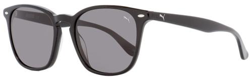 Puma Square Sunglasses PE0079S 002 Shiny Black 51mm 79