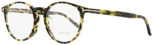 Tom Ford Alternative Fit Eyeglasses TF5524F 001 Shiny Black 52mm FT5524