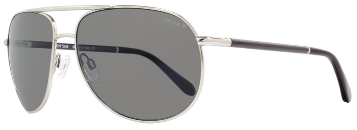 Corsa Aviator Sunglasses Marko C02 Palladium/Carbon Fiber Polarized