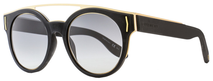 Givenchy Round Sunglasses GV7017/S VEXVK Matte Black/Gold 7017