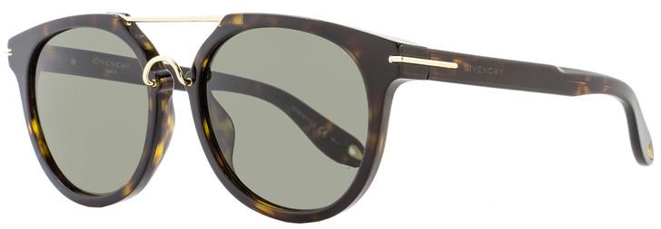 Givenchy Oval Sunglasses GV7034/S 08670 Dark Havana/Gold 7034