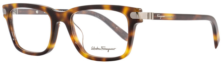 Salvatore Ferragamo Rectangular Eyeglasses SF2758 214 Size: 53mm Havana 2758