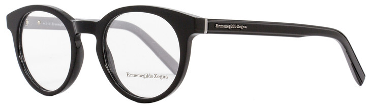 Ermenegildo Zegna Oval Eyeglasses EZ5024 005 Size: 47mm Black/Gray 5024