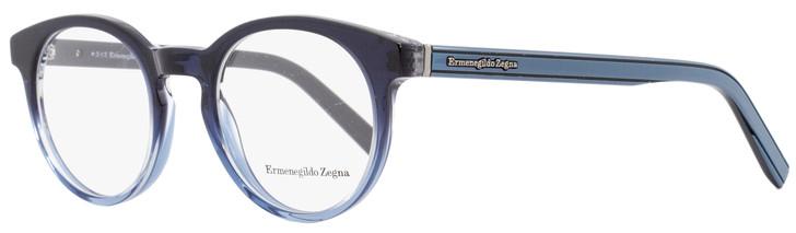 Ermenegildo Zegna Oval Eyeglasses EZ5024 092 Size: 47mm Shaded Blue 5024