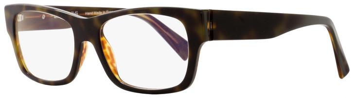 Alain Mikli Rectangular Eyeglasses A01320 B0H5 Size: 53mm Havana 1320
