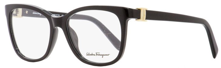 Salvatore Ferragamo Square Eyeglasses SF2760 001 Shiny Black 52mm 2760