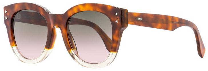 Fendi Oval Sunglasses FF0239S 0T4M2 Havana/Opal 50mm 239