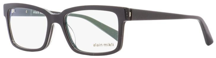 Alain Mikli Rectangular Eyeglasses A03033 1512 Gray/Crystal 53mm 3033