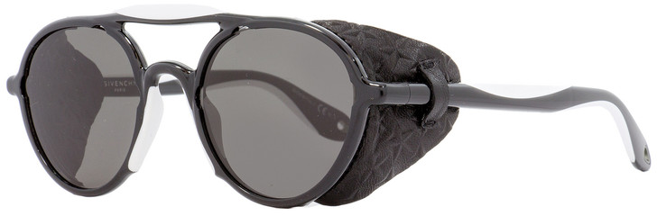 Givenchy Oval Sunglasses GV7038S TEMNR Black/White 50mm 7038