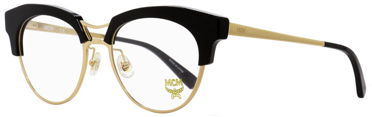 MCM Oval Eyeglasses MCM2106 001 Gold/Black 52mm 2106