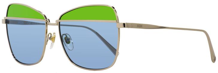 MCM Aviator Sunglasses MCM123S 740 Gold 57mm 123
