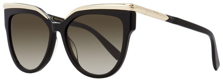 MCM Rectangular Sunglasses MCM637S 001 Black/Gold 56mm 637