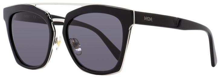 MCM Rectangular Sunglasses MCM649S 001 Black/Ruthenium 55mm 649