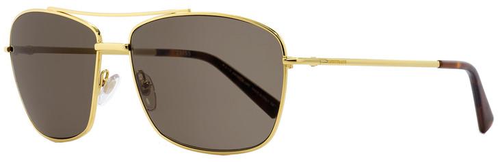 Montblanc Rectangular Sunglasses MB548S 30E Gold/Havana 63mm 548