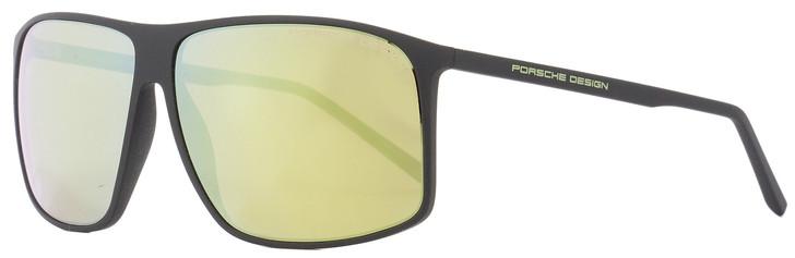 Porsche Design Square Sunglasses P8594 A Matte Black 62mm 8594