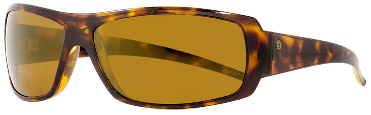 Electric Wrap Sunglasses Charge XL EE10410666 Gloss Tortoise Polarized 66mm