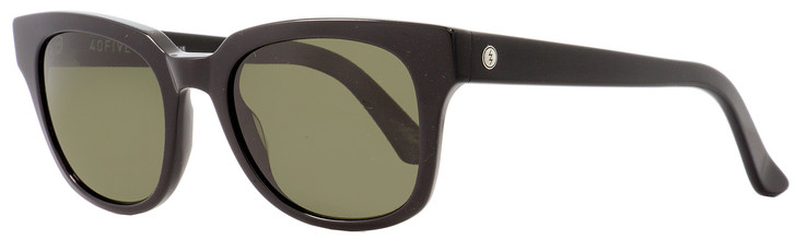 Electric Rectangular Sunglasses 40Five EE12301603 Gloss Black Polarized 50mm