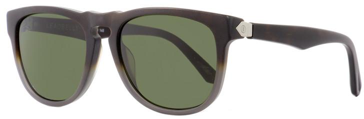 Electric Rectangular Sunglasses Leadbelly EE13355101 Matte Gray/Tortoise 55mm