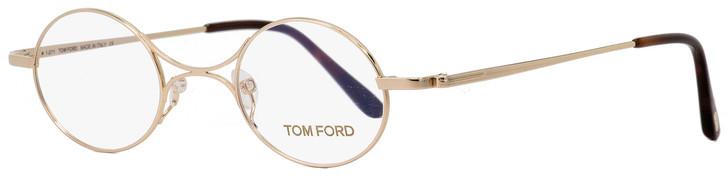 Tom Ford Oval Eyeglasses TF5172 028 Gold/Havana 40mm FT5172