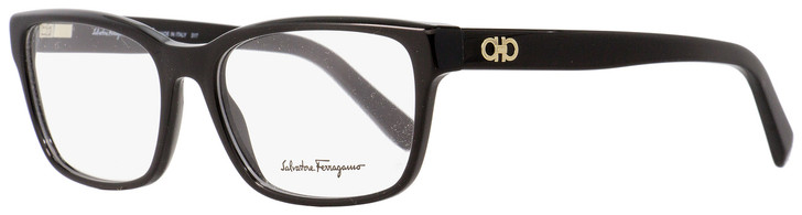 Salvatore Ferragamo Rectangular Eyeglasses SF2790 001 Shiny Black 54mm 2790