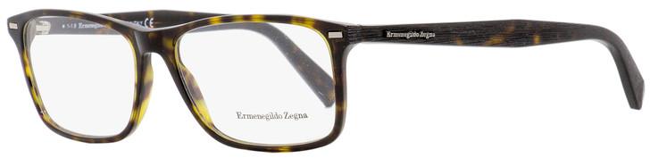 Ermenegildo Zegna Rectangular Eyeglasses EZ5069 052 Dark Havana 55mm 5069