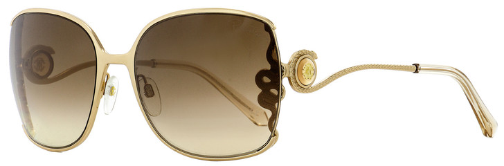 Roberto Cavalli Square Sunglasses RC1012 Wasat 28G Gold/Beige 61mm 1012