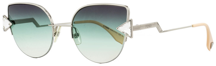 Fendi Cateye Sunglasses FF0242S VGVQC Silver/Pink 52mm 242