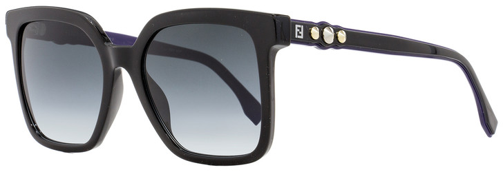 Fendi Square Sunglasses FF0269S 8079O Black/Purple 54mm 269