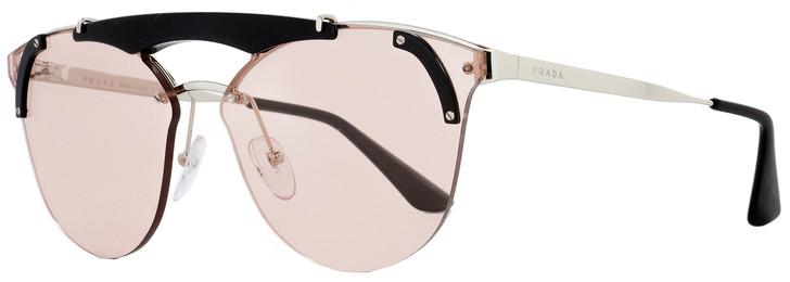 Prada Butterfly Sunglasses SPR53U 1AB-4Q0 Black/Palladium 42mm PR53US