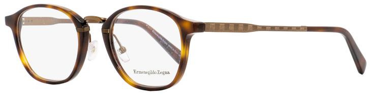 Ermenegildo Zegna Oval Eyeglasses EZ5101 052 Dark Havana 50mm 5101