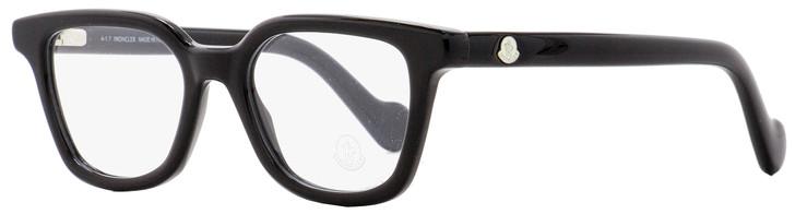 Moncler Rectangular Eyeglasses ML5001 001 Black 49mm 5001