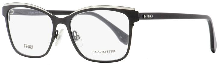 Fendi Rectangular Eyeglasses FF0277 807 Black 54mm 277