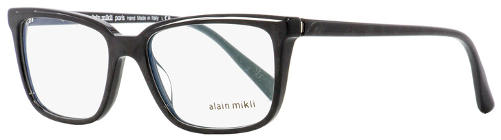 Alain Mikli Rectangular Eyeglasses A03079 003 Crystal Black 54mm 3079