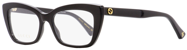 Gucci Cateye Eyeglasses GG0165O 001 Black 51mm 0165