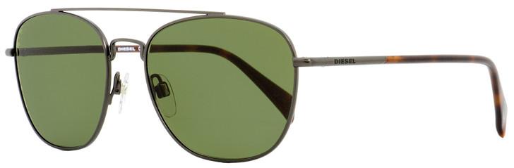 Diesel Oval Sunglasses DL0194 09N Gunmetal/Havana 54mm 194