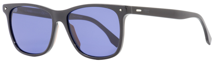 Fendi Rectangular Sunglasses FFM0002S 807KU Black 55mm 2