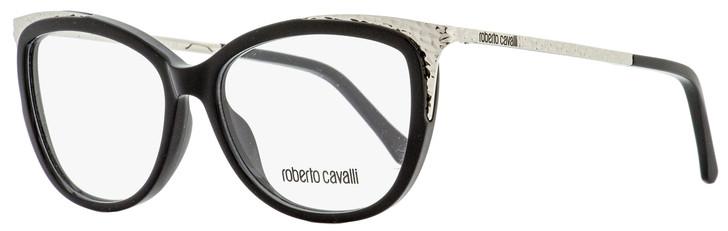 Roberto Cavalli Butterfly Eyeglasses RC5031 Camporgiano 001 Black/Ruthenium 54mm 5031