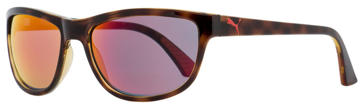 Puma Sport Sunglasses PU0011S Foundation V2 003 Havana 58mm 11