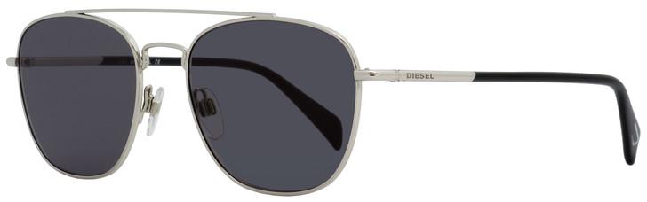 Diesel Rectangular Sunglasses DL0194 16V Palladium/Black 54mm 194