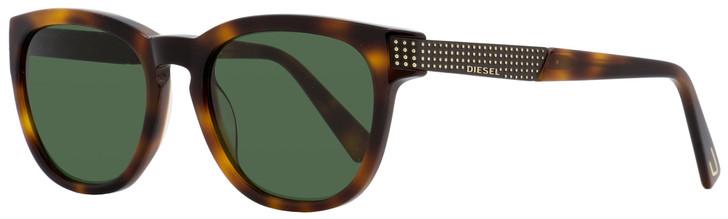 Diesel Oval Sunglasses DL0237 52N Dark Havana  51mm 237