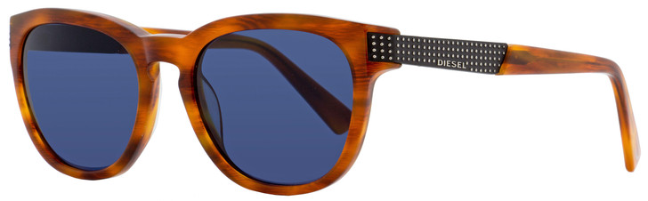 Diesel Oval Sunglasses DL0237 54V Red Havana  51mm 237