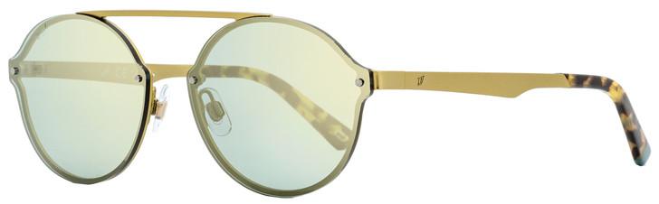 Web Oval Sunglasses WE0181 29X Matte Antique Gold  58mm 181