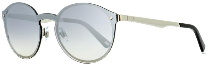 Web Oval Sunglasses WE0203 16C Palladium/Black 0mm 203