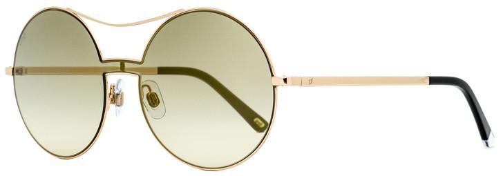 Web Round Sunglasses WE0211 28G Gold/Black 128mm 211