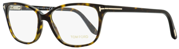 Tom Ford Oval Eyeglasses TF5293 052 Dark Havana 54mm FT5293