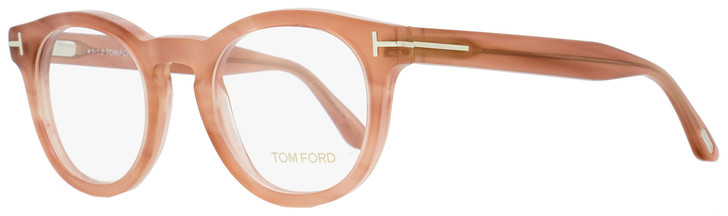 Tom Ford Oval Eyeglasses TF5489 074 Rose 48mm FT5489